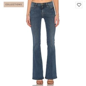 Frame Denim Le High Flare Jeans in Sunset 24 NWT